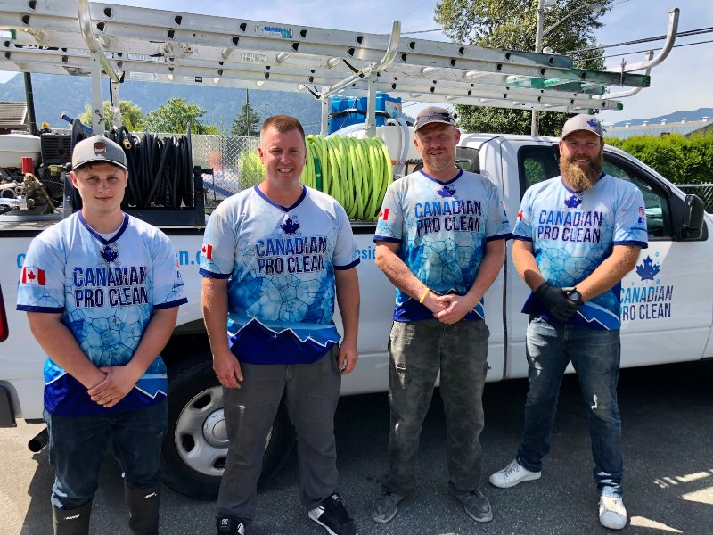 The Canadian Pro Clean Professional Crew